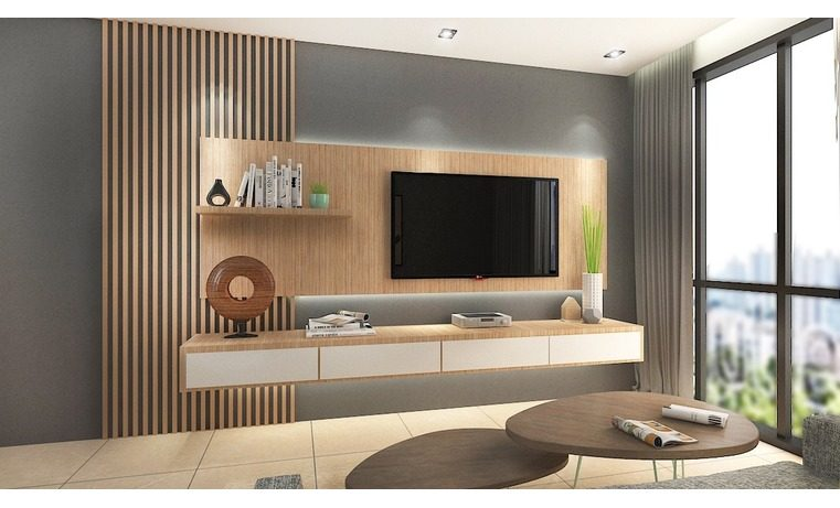 The Type Of Feature Wall Design For The Home S Wall